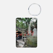 Fushimi Inari-taisha Aluminum Photo Keychain