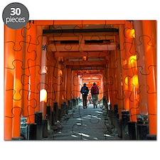 torii gates walk Puzzle
