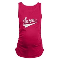 Java, Retro, Maternity Tank Top