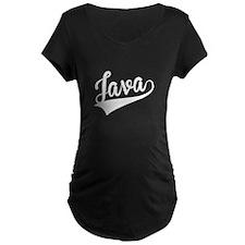 Java, Retro, Maternity T-Shirt