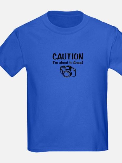 Caution Snap: T-Shirt