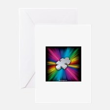 The Puzzle within the Spectrum Greeting Cards