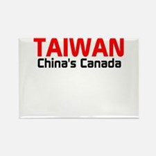Funny Taiwan Rectangle Magnet