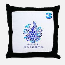 Blue Knights Team Gear 3 Throw Pillow