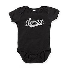 Jerez, Retro, Baby Bodysuit