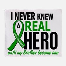 Cerebral Palsy Real Hero 2 Throw Blanket
