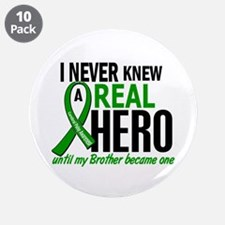 "Cerebral Palsy Real Hero 2 3.5"" Button (10 pack)"