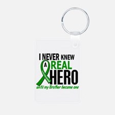 Cerebral Palsy Real Hero 2 Aluminum Photo Keychain