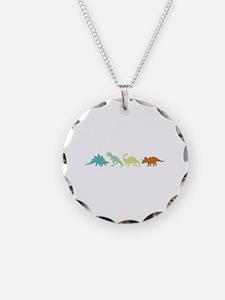 Prehistoric Medley Border Necklace