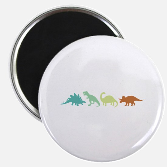 Prehistoric Medley Border Magnets