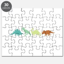 Prehistoric Medley Border Puzzle
