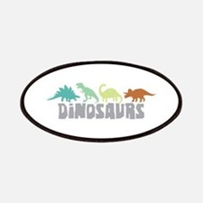 Dinosaurs Patches