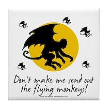 Send Out The Flying Monkeys! Tile Coaster