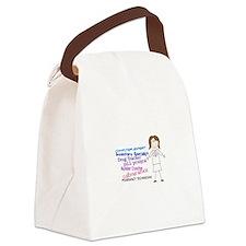 PHARMACY TECHNICIAN Canvas Lunch Bag