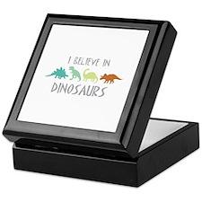 I Believe In DINOSAURS Keepsake Box