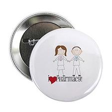 "i Love PHarmacy! 2.25"" Button"