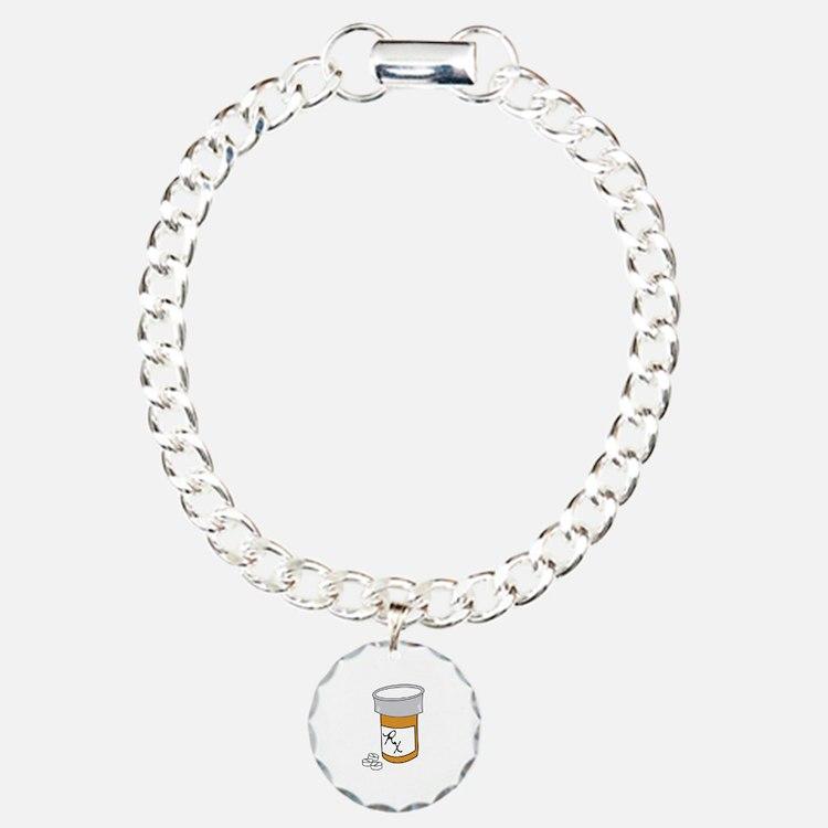 Pill Bottle Bracelet