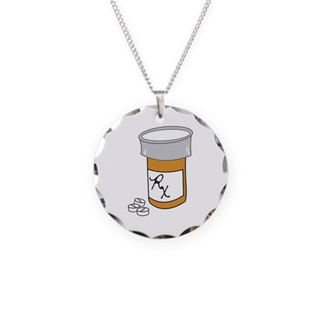 pill bottle necklace by embroidery1