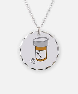 Pill Bottle Necklace