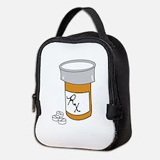 Pill Bottle Neoprene Lunch Bag