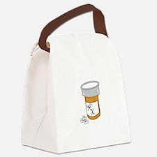 Pill Bottle Canvas Lunch Bag