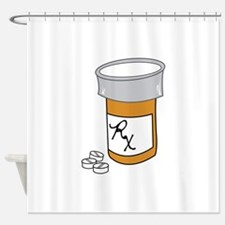 Pill Bottle Shower Curtain
