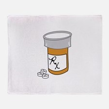Pill Bottle Throw Blanket