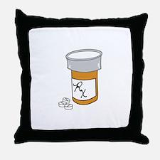 Pill Bottle Throw Pillow