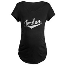 Jorden, Retro, Maternity T-Shirt
