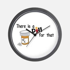 There is a Pill for that Wall Clock
