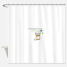 Pharmacology Genius Shower Curtain