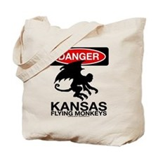 Danger: Flying Monkeys! Tote Bag