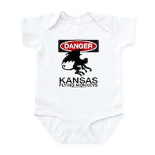 Danger: Flying Monkeys! Infant Bodysuit