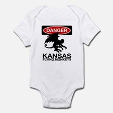 Danger: Flying Monkeys! Infant Bodysuit