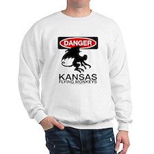 Danger: Flying Monkeys! Sweatshirt