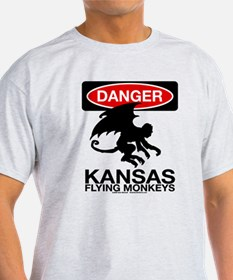 Danger: Flying Monkeys! T-Shirt