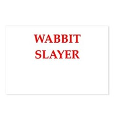 wabbit slayer Postcards (Package of 8)