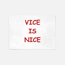 vice is nice 5'x7'Area Rug