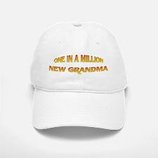 One In A Million New Grandma Baseball Baseball Cap