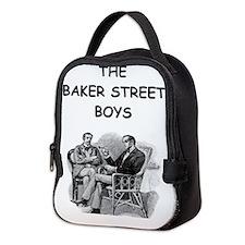sherlock holmes Neoprene Lunch Bag