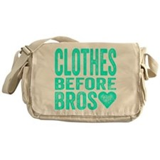 Clothes Before Bros Messenger Bag