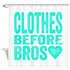 Clothes Before Bros Shower Curtain
