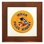 Indian Police Academy Framed Tile