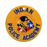 Indian Police Academy Ornament (Round)
