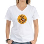 Indian Police Academy Women's V-Neck T-Shirt