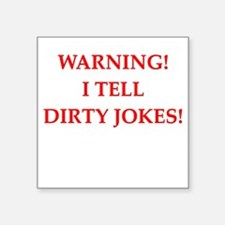 dirty jokes Sticker