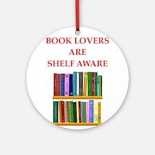 book lover Ornament (Round)