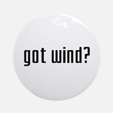 Got Wind? Ornament (Round)
