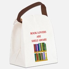 book lover Canvas Lunch Bag