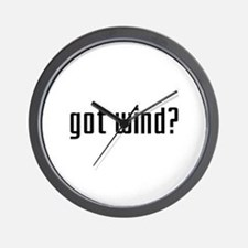 Got Wind? Wall Clock